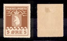 GROENLANDIA - 1905 - 5 Ore (2) - Gomma Originale - Francobolli