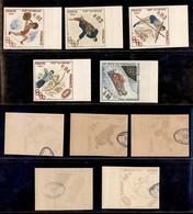 MONACO - 1964 - Prove - Olimpiadi Tokyo (784/788) - Serie Completa Non Dentellata - Gomma Integra - Francobolli