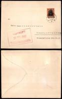 ROMANIA - Occ.Tedesca - Busta Da Bucarest A Charlottenburg Del 12.8.17 - Francobolli