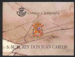SPAGNA - 1996 - Libretto Re Juan Carlos I (MH 10) - Nuovo Perfetto (200) - Francobolli