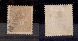 SVEZIA - 1862 - 3 Ore (14) Primo Tipo - Usato - Francobolli