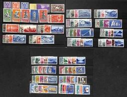 SVIZZERA - 1936/1963 - Pro Patria - Insieme Di 27 Emissioni Del Periodo - Gomma Integra (300) - Francobolli
