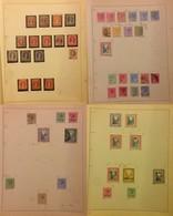 BAHAMAS - 1861/1931 - 66 Valori Del Periodo Su Sei Fogli D'album - Francobolli