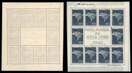 BRASILE - 1940 - Foglietto Fiera Mondiale Di New York (block 5) - Senza Gomma (190) - Francobolli