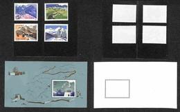 CINA - 1979 - Grande Muraglia (1486/1489 + Block15) - Emissione Completa - Gomma Integra (238) - Francobolli