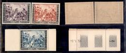 LAOS - 1954 - Giubileo Del Re (40/42) - Serie Completa - Gomma Integra (300) - Francobolli