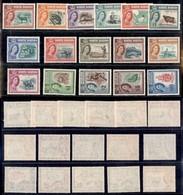 MALESIA - BORNEO DEL NORD - 1961 - Elisabetta II E Vedute (313/328) - Serie Completa - Gomma Integra (170) - Francobolli