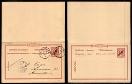 TOGO - Cartolina Postale 10 Pfenning Con Risposta Da Kleinpopo A Hannover Del 12.11.00 - Francobolli