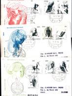12858a)F.D.C.SERIE COMPLETA SAN MARINO 4-3-76 - FDC