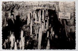 REF 373 : CPSM 16 Les Grottes Du Queroy Salignac Salle De L'ossuaire Luquey Park - Unclassified