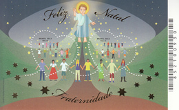 2013 Brazil Brasil Christmas Navidad Noel Miniature Sheet Of 2 MNH - Nuevos