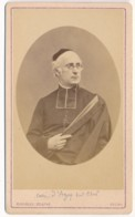 Photographie Ancienne CDV Circa 1870 Portrait Du Curé D' AZAY SUR CHER 37 Indre Et Loire Photographe BLAISE Tours - Photos
