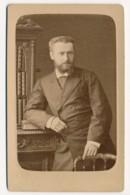 Photographie Ancienne CDV Circa 1870 Portrait De Monsieur HOCLIN Photographe WALERY Paris - Photographs