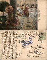 HENRYK SIENKIEWICZ PAINTING POSTCARD - Malerei & Gemälde