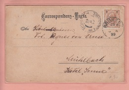 OLD POSTCARD ITALY - ITALIA -       BRUNECK  1899 - Bolzano