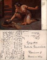 E. LENARI PAINTING POSTCARD - Malerei & Gemälde