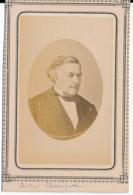 Photographie Ancienne CDV C.1860 Portrait Du Docteur Edouard CHASSAIGNAC (1804-1879) Chirurgien Professeur Médecine - Photos
