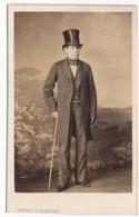 Photographie Ancienne XIXe C.1860 Portrait De Monsieur LEROUX Compagnon De Voyage En Italie De Hector-Marie LEFUEL - Photos