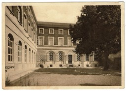 Institut N.D. Des Anges (Fort) Courtrai / Inrichting O.L.V. Ter Engelen (Fort) Kortrijk, Jardin Intérieur - 2 Scans - Kortrijk