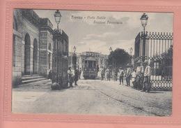 OLD POSTCARD ITALY - ITALIA -      TRAM - TREVISO - PORTA  - ANIMATED - Treviso