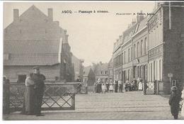 CPA NORD ASCQ Passage à Niveau Edit Touly - Villeneuve D'Ascq