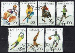 Tansania 1993 // Mi. 1467/1473 O - Tansania (1964-...)
