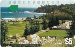 Norfolk Isl. - Telstra/Norfolk. Tel (Anritsu) - Kingston (Not SCC Issue), 1994, 5$, 14.000ex, Used - Norfolkinsel