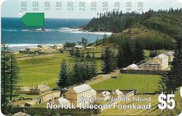 Norfolk Isl. - Telstra/Norfolk. Tel (Anritsu) - Kingston (SCC Issue), 1994, 5$, 11.000ex, Used - Norfolkinsel