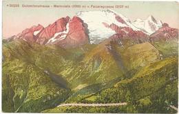 W4151 Strada Delle Dolomiti Dolomitenstrasse (Belluno) - Marmolada - Passo Falzarego Falzaregopass / Non Viaggiata - Italia