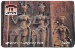 Vietnam - Viettel (Fake) - Apsaras At Angkor Wat, 10,000V₫ - Vietnam
