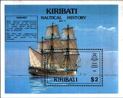 6479B)  KIRIBATI-BF-N.13 -STORIA DELLA NAVIGAZIONE-MNH** - Kiribati (1979-...)