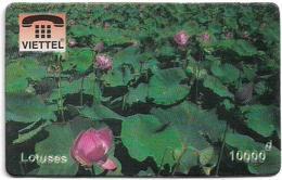 Vietnam - Viettel (Fake) - Lotuses Flowers, 10,000V₫ - Vietnam