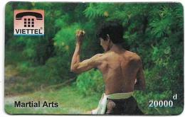 Vietnam - Viettel (Fake) - Martial Arts, 20,000V₫ - Vietnam