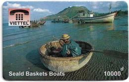 Vietnam - Viettel (Fake) - Seald Baskets Boats, 10,000V₫ - Vietnam
