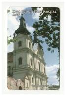 UKRAINE - Architecture - Carmelite Church, Lviv - Phonecard Telecard Chip Card 2520 Units - Oekraïne
