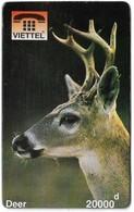 Vietnam - Viettel (Fake) - Deer, 20,000V₫ - Vietnam