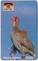 Vietnam - Viettel (Fake) - Gray-Breasted Bird, 20,000V₫ - Vietnam