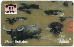Vietnam - Viettel (Fake) - Water Buffalos, 20,000V₫ - Vietnam