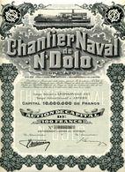 CHANTIER NAVAL De N'DOLO - Navigation