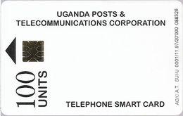 Uganda - UPTC - White Smart Card 100U, 11.1997, 20.000ex, Used - Uganda