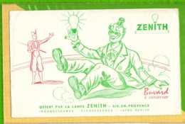 Buvard & Blotting Paper :Offert Par  La Lampe ZENITH Clown - Electricité & Gaz