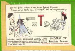 Buvard & Blotting Paper :  Produit PHOSPAL Procedés Pechiney - Agriculture