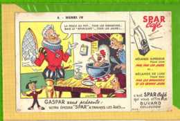 Buvard & Blotting Paper :  Café SPAR Gaspar 8 Henri IV - Café & Thé