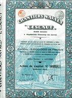 """CHANTIERS NAVALS """"L'ESCAUT"""" - Navigation"""