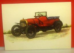 Auto Cars Voitures - Grand Prix Itala 1908  CARTOLINA Non Viaggiata - Voitures De Tourisme