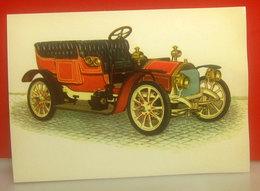 Auto Cars Voitures - Brixia Zust 10 HP  1908  CARTOLINA Non Viaggiata - Voitures De Tourisme