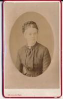 Photographie Ancienne XIXe CDV Portrait D'une Femme Photographe ALLIX Avranches - Fotos