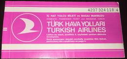 Turkish Airlines Ticket Istanbul Dalaman - Billetes De Transporte
