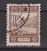 Nederlands Indie Dutch Indies Japanse Bezetting Sumatra 10 Used ; Netherlands Indies Japanese Occupation JS10 - Indonesië