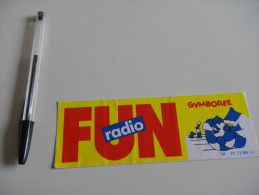 Autocollant - RADIO FM  - FUN GYMBOREE  - Ours - Autocollants